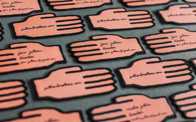 Jean Jullien Business Card