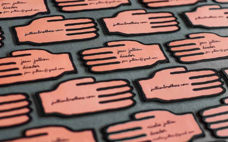 Jean Jullien Business Card