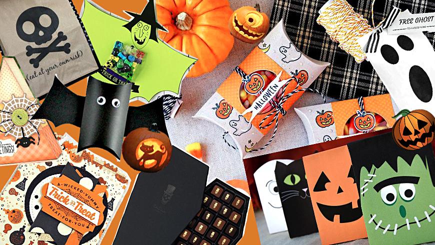 Упакуем в стиле Halloween
