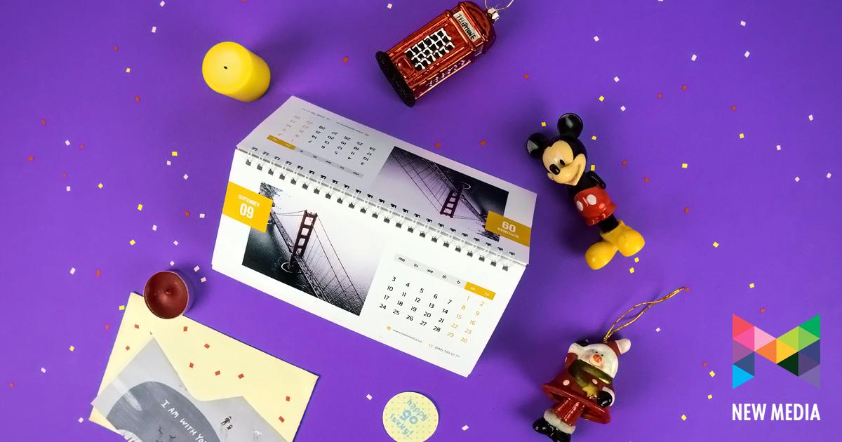 Календарь настольный Стандарт — 7 листов