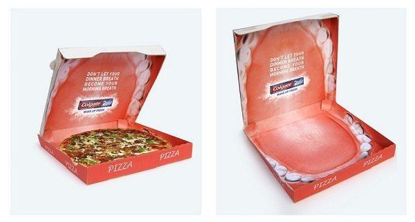 пицца зуб паста
