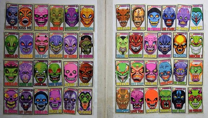 Наклейки Iskeletor «Kolej» (Полная Коллекция)