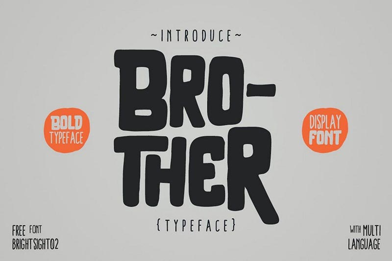 Brother-Typeface