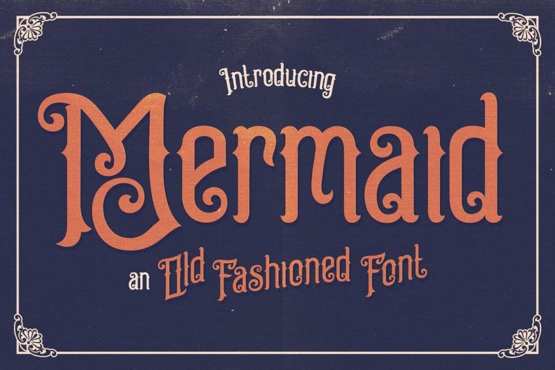 Mermaid-Typeface