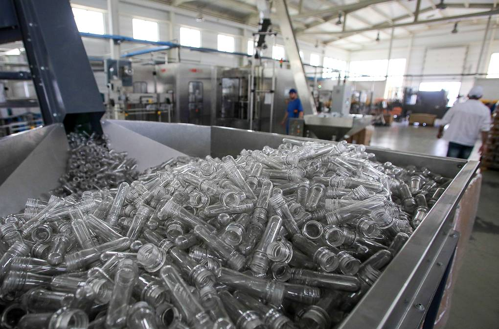 Lider-A canning factory in Gudermes, Russia
