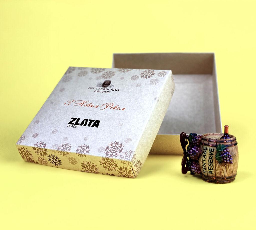 изготовление упаковки из крафт-картона