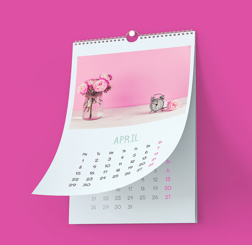 замовити друк календарiв на пружинi